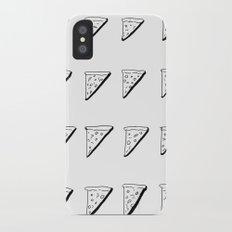 3D Pizza iPhone X Slim Case