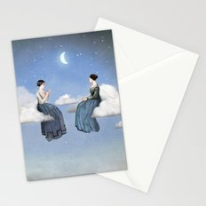 Wind, Clouds and Tea Stationery Cards