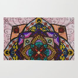 Love Mandala - מנדלה אהבה Rug