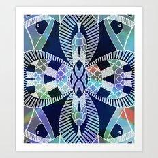 Ubiquitous Bird Collection7 Art Print