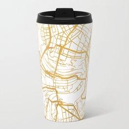 BERN SWITZERLAND CITY STREET MAP ART Travel Mug