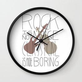 Rock/Classic Wall Clock