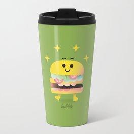 Dancing Burger Travel Mug