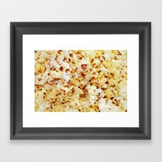 POPcorn. Framed Art Print