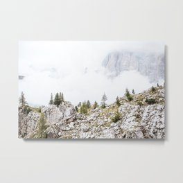 Dolomites XVI [ South Tyrol, Italy ] Frog panorama Cinque Torri⎪Colorful travel photography Poster Metal Print