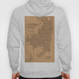 Map of Miami 1918 Hoody