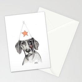 Birthday dog Stationery Cards