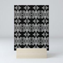 Ornament - Tree of Life - Rebirth - Mehndi Love - Black #1 Mini Art Print