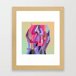 Maskine 5 Framed Art Print