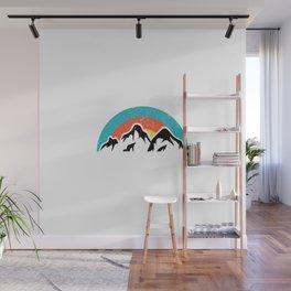 Mountains | Hiking Camping Climbing Sports Gift Wall Mural