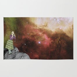Lady in Space III Rug