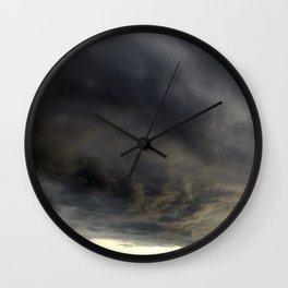 cloud panorama. Wall Clock