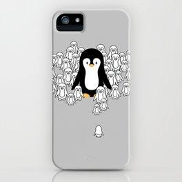 Penguin Mark iPhone Case