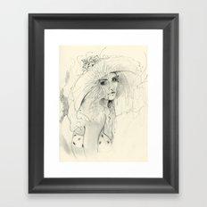 Summer Child Framed Art Print