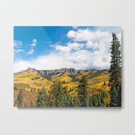 The Cimarron Range Metal Print