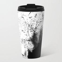 Dotted streaks Travel Mug