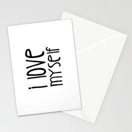 I love myself Stationery Cards