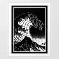 Hokusai, the Great Wave Art Print
