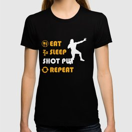 Shot Put Graphic T-Shirt T-shirt