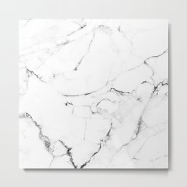 Marble Addiction #society6 #decor #buyart Metal Print