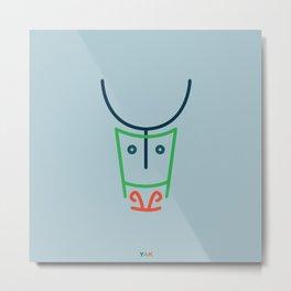 y- yak Metal Print