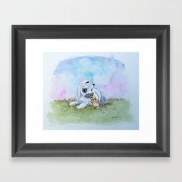 Harvey and Bunny Framed Art Print