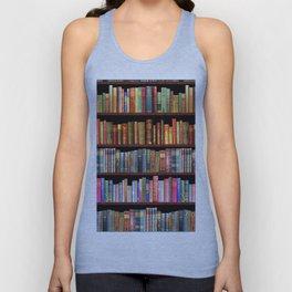 Vintage books ft Jane Austen & more Unisex Tanktop