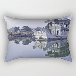 Dollar Boat Rectangular Pillow