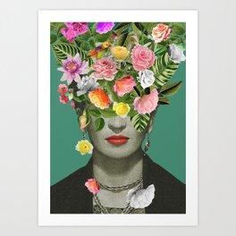 Frida Floral Kunstdrucke