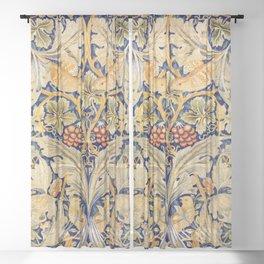 """William Morris """"Acanthus and vine"""" 1. Sheer Curtain"""
