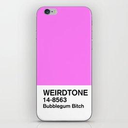 Bubblegum Bitch Pink iPhone Skin