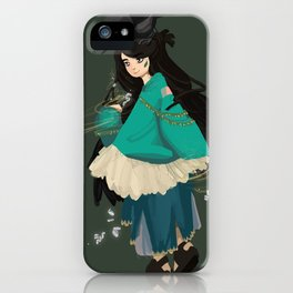 Kleptowitch iPhone Case
