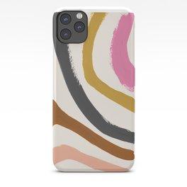 Zébra pop iPhone Case
