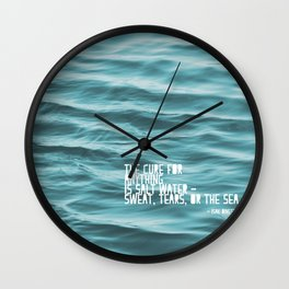 SaltWater Cure Wall Clock
