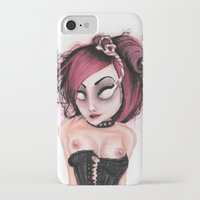 rocky horror iPhone & iPod Cases featuring Untitled IV by Rouble Rust