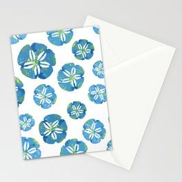 Blue Sand Dollars Stationery Cards