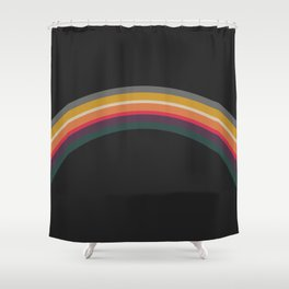 one day – prismatic (can pair with bonfire) Shower Curtain