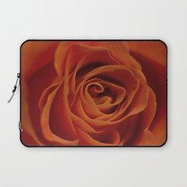Orange rose closeup Laptop Sleeve