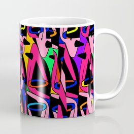 Shattered 1980's Coffee Mug