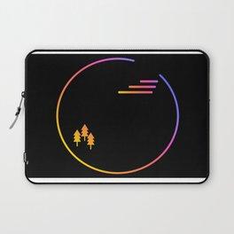 Minimalist Rainbow Circle Laptop Sleeve