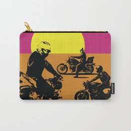 The Endless Summer for Motorcycling Carry-All Pouch