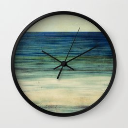 Abstract Seascape No 2 Wall Clock