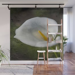 White Lily Wall Mural