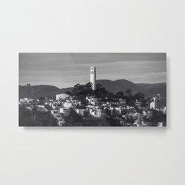 Coit Tower Metal Print