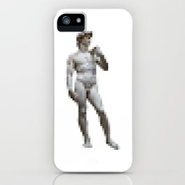 Pixelated Adam iPhone Case
