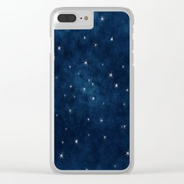 Whispers in the Galaxy Clear iPhone Case