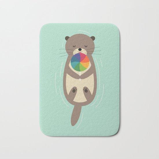 Sweet Otter Bath Mat