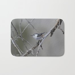 White-breasted Nuthatch Bath Mat