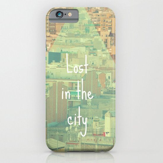 Lost in the city iPhone & iPod Case