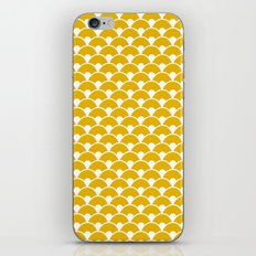 Dragon Scales Mustard iPhone & iPod Skin